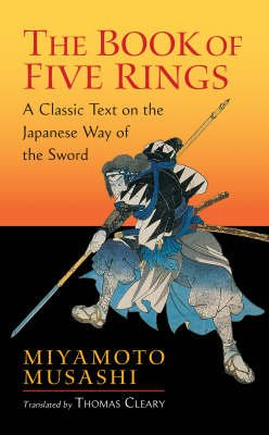 The Boook of Five Rings - by Miyamoto Musashi - cover image